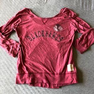 Chicago Blackhawks long sleeve shirt